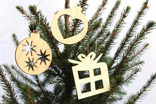 Weihnachtsanhänger Aus Holz