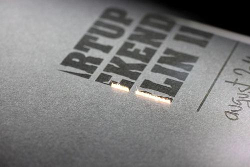 Lasergravur Fotokarton